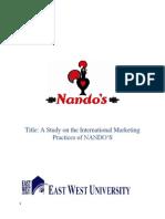 Nando's IM Term Paper