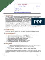 UT Dallas Syllabus for ee6325.001.08s taught by Poras Balsara (poras)
