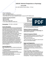 UT Dallas Syllabus for psy3360.001.08s taught by Ralf Greenwald (rrgreen)