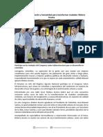 22-11-13 Participa Maloro en Congreso Sobre Infraestructura en Colombia