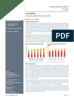 Cinema Operator Industry Report May 2014