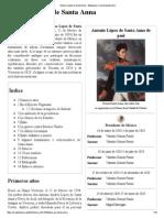 Antonio López de Santa Anna - Wikipedia, La Enciclopedia Libre