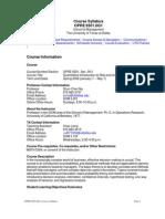 UT Dallas Syllabus for opre6301.0g1.08s taught by Shun-chen Niu (scniu)