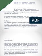 Propiedades de Los Sistemas Abiertos II 2014