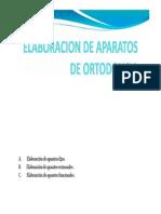 Elaboracion de Aparatos de Ortodoncia