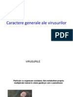 AMG - Caractere Generale Ale Virusurilor
