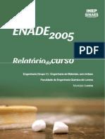 Enade 2005 Engenharia de Materiais-EEL/USP