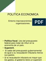 Unidad IV Politica Economica