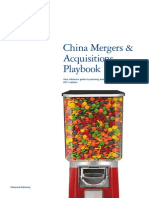 China M&A Playbook