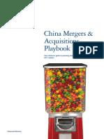 China M&A Playbook