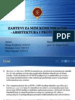 Zahtevi Za M2M Komunikacije - Prezentacija