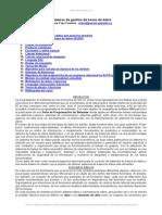 Sistemas Gestion Bases Datos