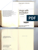 Rings With Involution (1976) - Herstein