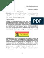 caso  denegado indecopi Marijuana