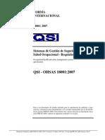 Requisito Normativo OHSAS 18001-Version C-Octubre-2007