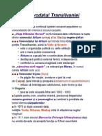 Istorie - Istoria Romanilor -