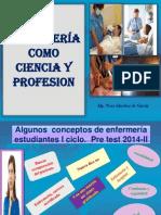 Enfermeria Como Ciencia y Profesion