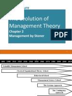 2. Evolution of Management Theories