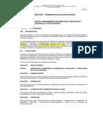 Norma DGE Terminologia en Electricidad