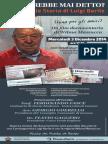 Genova 'Chi l'avrebbe mai detto?' In prima assoluta documentario su Luigi Barile