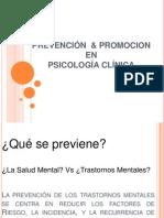 Diapos Promoción y Prevención