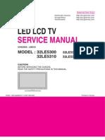 LG 32LE5300 32LE5310 SERVICE MANUAL