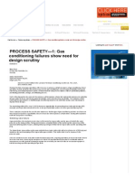 PROCESS SAFETY&Mdash;1_ Gas Conditioning Failures Show Need for Design Scrutiny - Oil & Gas Journal