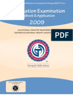 FORM Certification Examination Handbook 2009