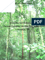 A Família Orchidaceae No Parque Estadual Da Ilha Do Cardoso
