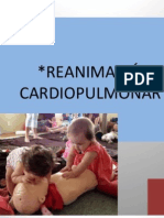 RESUCITACION CARDIO PULMONAR  (RCP) y descripcion de  un caso clinico