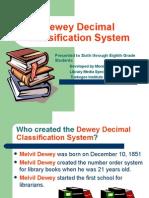 Dewey Decimal System Presentation