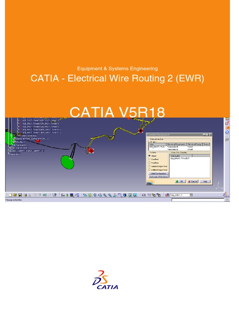 catia electrical wire routing 2 ewr electrical connector rh es scribd com