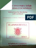 Teñir con Cochinilla