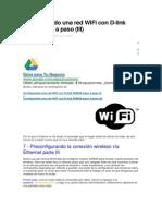 Configurando Una Red WiFi Con D