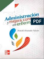 Alvarado Falcon Araceli - Administracion y Mejora Continua en Enfermeria