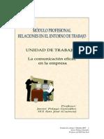 Unidad de Trabajo 2 La Comunicación Eficaz en La Empresa