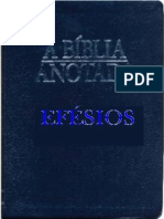 A Bíblia Anotada - Efésios