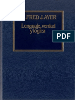 Ayer Alfred - Lenguaje Verdad Y Logica