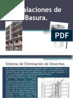 Instalaciones de Basura.