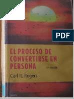 Rogers,Carl Proceso Convertirse en Persona
