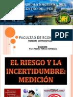 Riesgoeincertidumbreproyectos.pptx Finanzas Corporativas