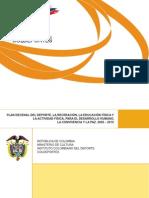 Plan Nacional Deporte 2009 2019