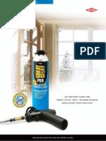 DOW - Great Stuff Pro - Polyurethane Pro