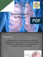 síndromes  Pleurales.