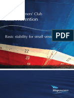 Basic Stability for Small Vessels