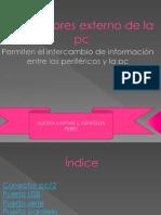 Conectores Externos de La Pc