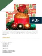 Panetone Integral Diet