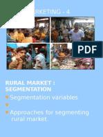 Rural Marketing - 4