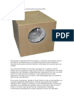 Caja Insonorizadora Casera Para Extractor RVK