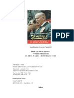 Profecias de Plinio Corrêa de Oliveira na Politica - Juan Gonzalo Larrain Campbell